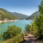 Lago di Fiastra Marche regione
