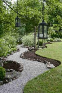 Arredare il giardino con sassi e pietre
