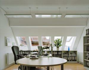 trasformare la mansarda abitabile in uno studio professionale