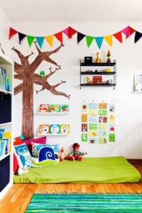 Come arredare la cameretta per bambini secondo il metodo Montessori