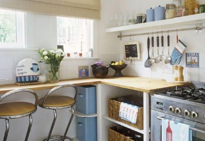 Arredare una cucina piccola con stile e senza rinunce | Brokey