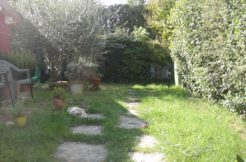 Terra cielo con giardino
