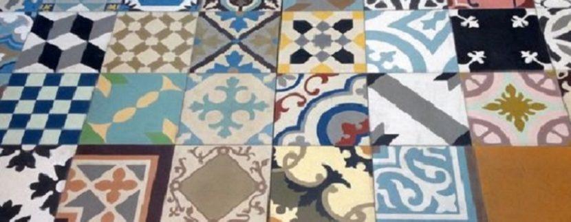cementine per pavimenti pareti mobili